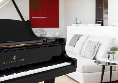 piano Steinway & son